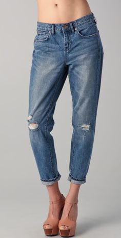 i could lounge in these all day long. #denim #boyfriend