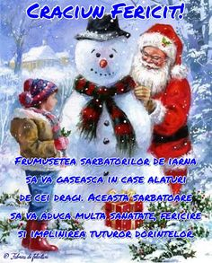 Frumusețea sărbătorilor de iarnă să vă găsească în case alături de cei dragi. Această sărbătoare să vă aducă multă sănătate, fericire și împlinirea tuturor dorințelor. Christmas Wishes, Merry Christmas, Xmas, Christmas Ornaments, Holiday Decor, Anime, Cards, Home Decor, Advent