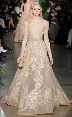Elie Saab | Spring 2015 Couture Bridal Gowns - Best Wedding Gowns from Spring 2015 Couture