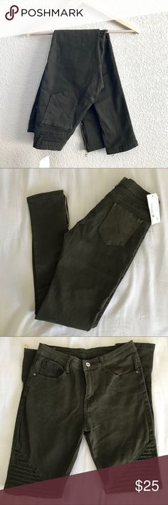 Jeans Motivated Just Jeans Brand Skinny Jeans Zippers Size 6 Bnwt Modern Design