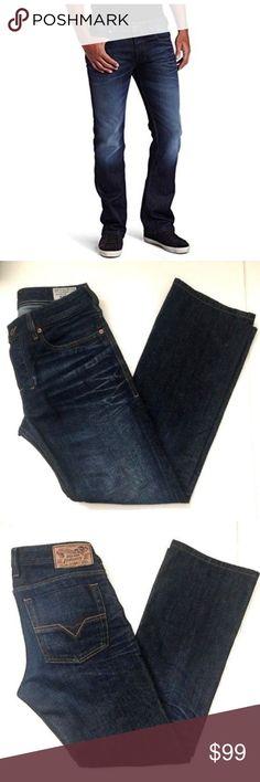 24bdc1d788a DIESEL Zatiny Bootcut Jeans 0073N W 29 L 30 Blue DIESEL Zatiny  Regular-Bootcut Jeans