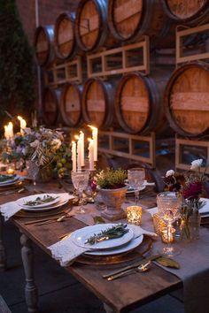Photography: Urban Rose Photo  Read More: http://www.stylemepretty.com/2013/12/11/french-farmhouse-inspired-wedding-inspiration-in-spokane-washington/