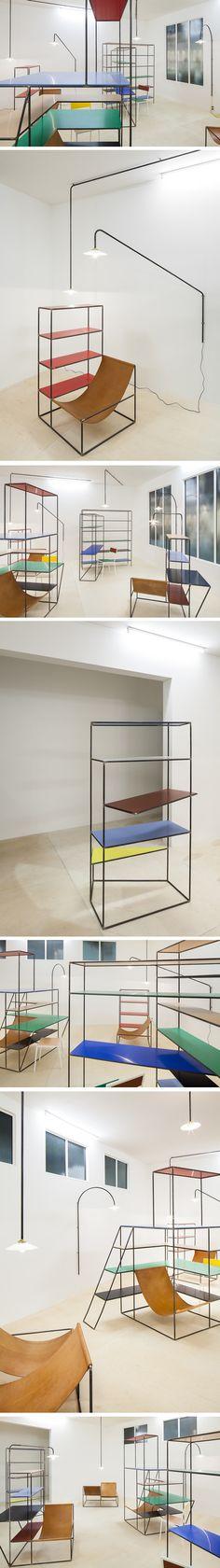 Mobilier design selon Muller Van Severen
