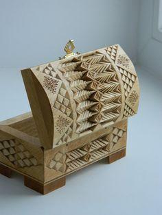 Jewelry Box Rustic Home Decor Treasure Storage by FancyChip