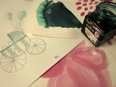 Sweet colours drawing sketch ideas ecoline    #colours #ecoline #illustration