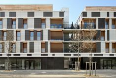 Valeton Housing by Gelin-Lafon I Like Architecture