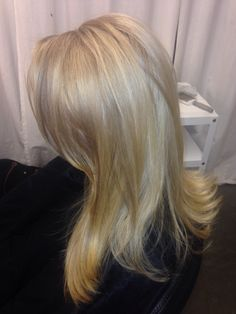 Blonde foil with low light