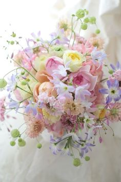 Spring bridal flowers