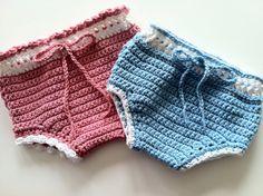 Crochet Pattern for Everyday Diaper Cover Soaker