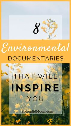 8 Environmental Documentaries That Will Inspire You One of my favorite ways to c. 8 Environmental Documentaries That Will Inspire You One of my favo Zero Waste, Vie Simple, Eco Friendly Cleaning Products, Eco Products, Green Living Tips, Love The Earth, Green Life, Sustainable Living, Sustainable Energy