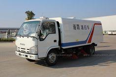 ISUZU NKR 3cbm-5cbm Isuzu Road Sweeping Vehicle