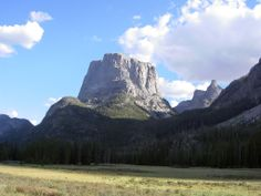 """Squaretop Mountain...""""In every walk with nature one receives far more than he seeks."""" -   John Muir"""
