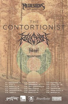 NEWS: The metal band, The Contortionist, have announced a North American tour, for February, in support of their latest release, Language. Revocation, Fallujah and Toothgrinder will be supporting the tour. You can check out the dates and details at http://digtb.us/1wc03oG