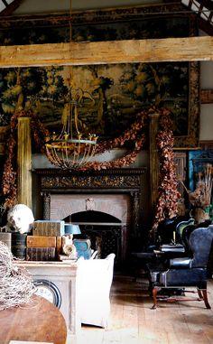 (via Little Red House: An Architect's Garden: Interiors)