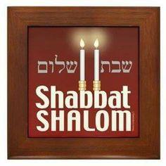 Shabbat shalom, sabbath peace