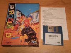 ROD LAND - COMMODORE AMIGA - PAL España - Completo | eBay