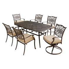 Traditions 7-Piece Outdoor Dining Set - Sam's Club