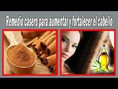 Remedio casero para aumentar y fortalecer el CABELLO | #Belleza - YouTube