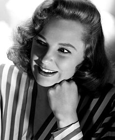 June Allyson...A wonderful friend. She  and husband David bought several of my paintings through the years/