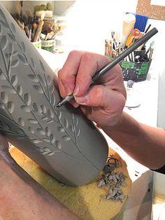 Dotti Potts Pottery Studio   STUDIO