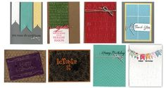 Archiver's ScrapFest 2012. Inspired by Pinterest! Cards
