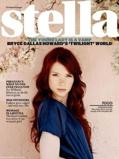 I love this dark red on Bryce Dallas Howard. Thinking of going from ginger to a darker red like this in a few months.