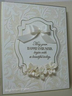 CL_ TLC361 Wedding by carol_PA925 - Cards and Paper Crafts at Splitcoaststampers