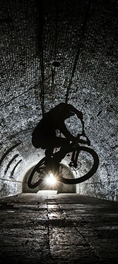 Light at the end of the tunnel. #BMX #Bike