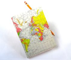 World Travel Journal.. $12,00, via Etsy.