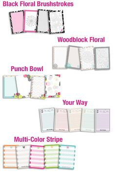 Cute 50-page Notepads that are handy for kids or adults! Check out the Stationery Worksheet for all your personalization details.  Shop 24/7 @   www.mythirtyone.com/autumndale