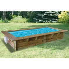 1000 ideas about liner piscine hors sol on pinterest for Monter une piscine en bois