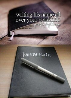 death note. I actually read & liked this anime series..
