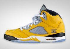 Jordan #5 retro Yellow