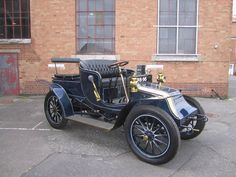 Rare veteran car – a 1904 Wilson-Pilcher – up for auction