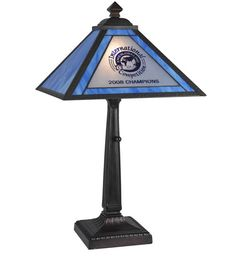 """Personalized EMS Global Inc 23"""" H Table Lamp with Square Shade"""