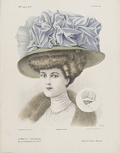 French millinery print 1907 (http://collections.lacma.org/node/589000)