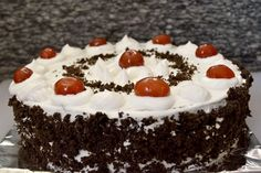Poorni's Easy Cookbook: Simple Black forest cake/ Black forest pastry ~~Eg. Healthy Low Calorie Meals, Low Calorie Recipes, Eggless Baking, Black Forest Cake, Rice Dishes, Vanilla Cake, Soup Recipes, Cheesecake, Snacks
