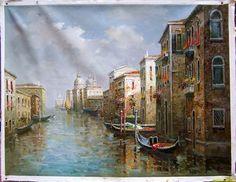 Venice Building Impressionism