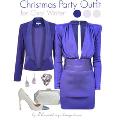 Christmas Party Outfit/Holiday look for Cool Winter by taggica on Polyvore | #PartyWear #party #Christmas #Howtostyle #CoolWinter #WinterSummer #holiday #holidaylook