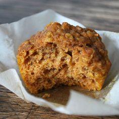Pumpkin quinoa muffins.