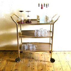 New vintage liquor cart at 5k5.info