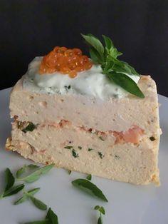 Pastel de salmón con hierbas frescas