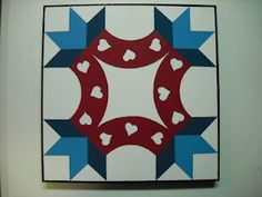 Friendship Knot Barn Quilt