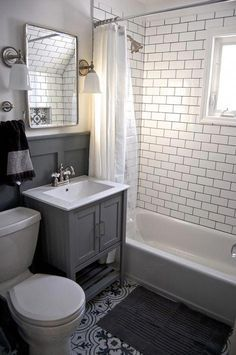 Rustic Bathroom Decor Mirrored Bathroom Accessories Sets Black And Cream Bathroom Accesso Small Bathroom Inspiration Gray And White Bathroom Small Bathroom
