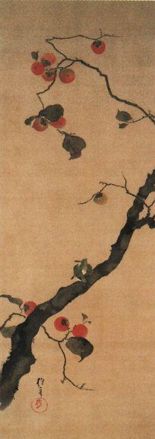 酒井抱一「十二ヶ月花鳥図」