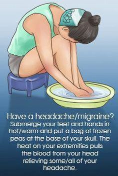 Incredible Natural Headache Remedy for Instant Headache Relief Ideas Migraine Remedies Have you Natural Headache Remedies, Natural Health Remedies, Natural Headache Relief, Migraine Remedy, Migraine Diet, Herbal Remedies, Cold Remedies, Home Remedy For Migraines, Yoga For Migraines