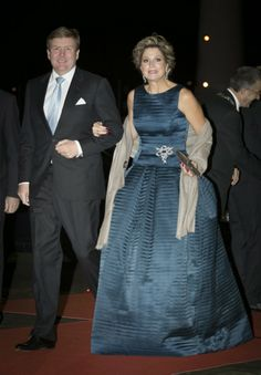 Dutch Royal Family attended a celebration of the reign of Princess Beatrix in Rotterdam.