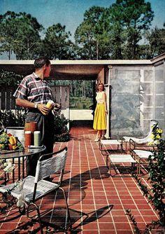 American Dream. Love this patio tile.