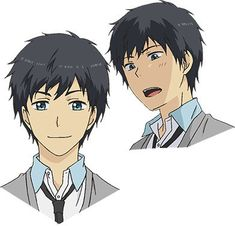 """""""ReLIFE"""" Anime Featured In New Preview And Visual Relife Anime, Anime Art, Anime Boys, Anime Purple Hair, Slice Of Life Anime, Children's Book Illustration, Drawing, Shoujo, Anime Couples"""
