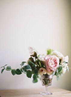 romantic, sprawling flowers